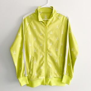 Jeffree Star Chartreuse Green Track Jacket